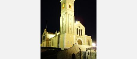 basilica de noche
