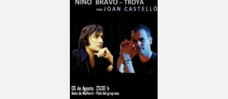 Concierto Homenaje Nino Bravo. 3 de Agosto 2015