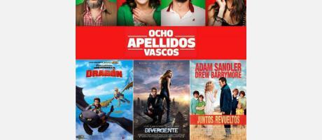 Peliculas Cine de Verano en Almoradí 2015