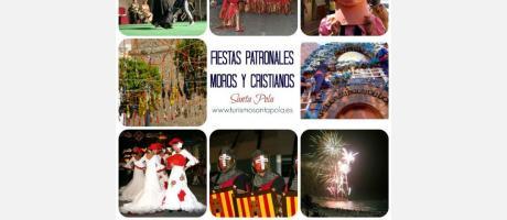 Fiestas Patronales y de Moros y Cristianos Santa Pola 2015