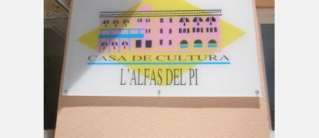 Logotipo de la Casa de la Cultura de Alfaz del Pi