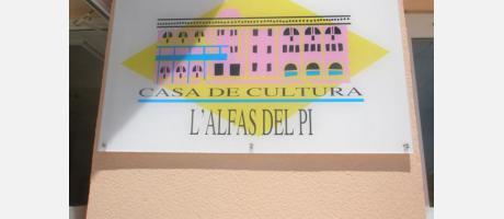 Logotipo de la Casa de la Cultura de L´Alfàs del Pi