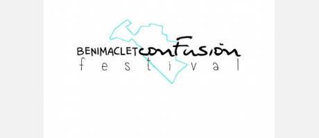 Cartel del Festival con la delimitacion del barrio de Benimaclet