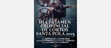 III Certamen Provincial de Cortos Santa Pola 2015