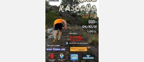 Cartel Trail Rascaña de Segorbe