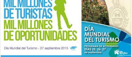 Día Mundial del Turismo en Elche