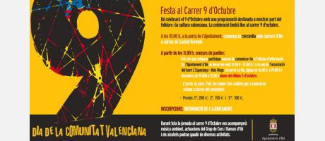 cartel 9 d'octubre 2015 Ibi