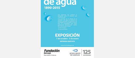 Cartel Exposición Hechos de agua