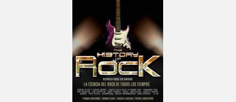 Guitarra eléctrica con letras de History of Rock