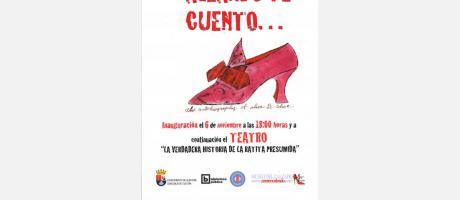 Exposición Calzando te Cuento y Teatro infantil La Verdadera Historia de la Rati