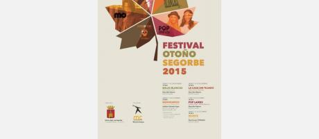 Cartel Festival de Otoño en Segorbe