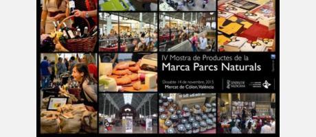 Imágen con diversas fotos de productos alimenticios de Parques Nautrales