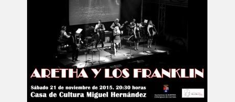 Espectáculo ARETHA Y LOS FRANKLIN