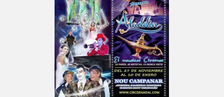 Imagenes del Circo de Navidad, acróbatas, payasos.
