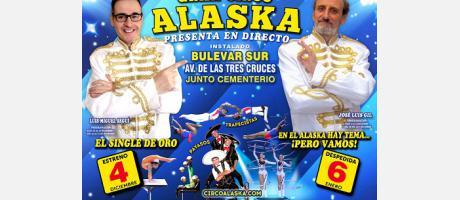 Imagen del Cartel Gran Circo Alaska