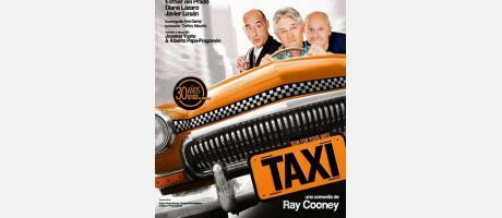 Imagen del Cartel de Taxi en el Teatro Olympia