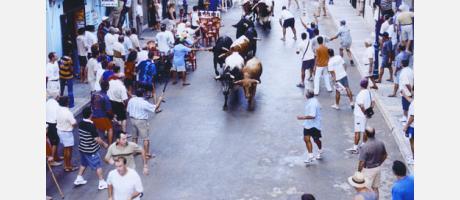 entrada toros fiestas san bartolomé torreblanca-torrenostra