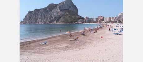 Calpe - Playa Arenal
