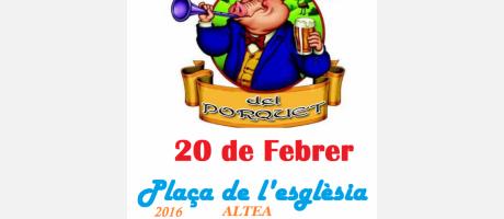 Festa del Porquet 2016