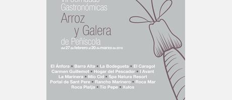 Cartel anunciador Jornadas gastronómicas