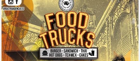 Cartel Anunciador del FoodTruck