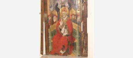 Retablo gótico de San Pedro Apóstol en Cinctorres