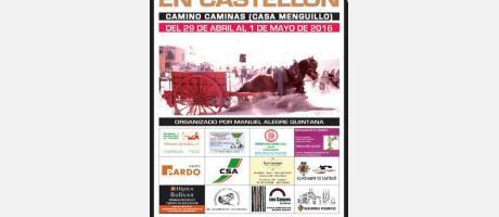 Cartel Tiro y arrastre Castellón