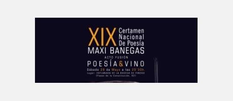 Certamen Nacional de Poesía Maxi Benegas Poesia y Vino