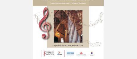 Portada folleto concierto Beethoven Lonja de la Seda