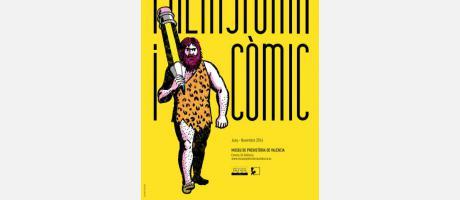 Exposición Prehistoria y cómic