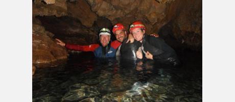 Cuevas acuáticas