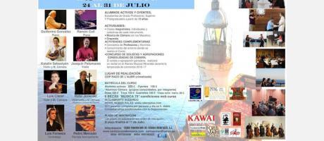 Conciertos XXVIII Curso Internacional para Instrumentistas de Piano, Cuerda y Mú
