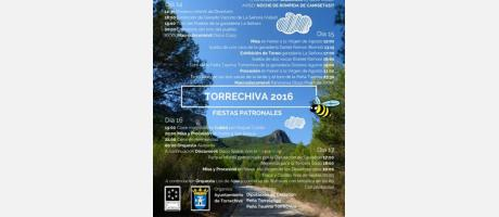 Cartel Fiestas Torrechiva