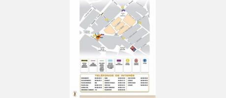 Plano ubicacion recorrido