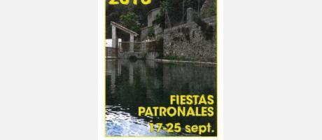 Cartel Fiestas Montán