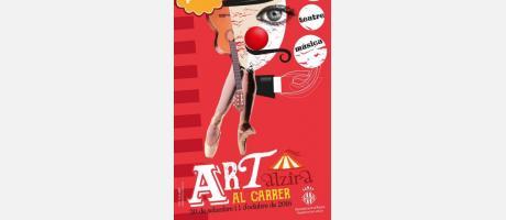 Cartell Art al Carrer Alzira 2016