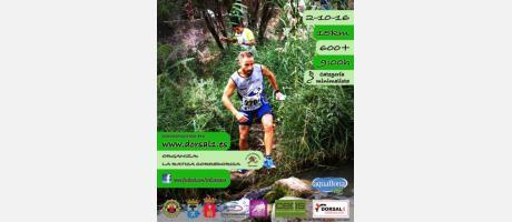 Cartel Trail Rascaña Segorbe