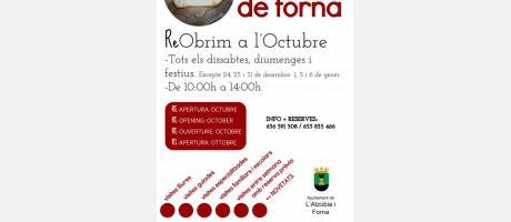 Cartel Castillo de Forna