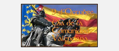 Día 9 de Octubre día de la Comunidad Valenciana