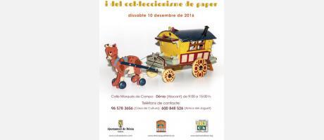 Cartel Feria del Juguete Antiguo Dénia