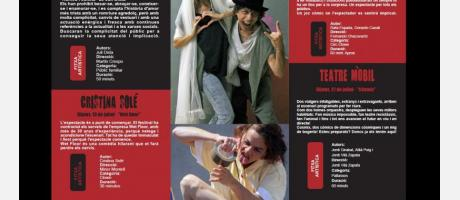 Programa oficial del festival de teatro al aire libre de Sant Joan de Moró 2017
