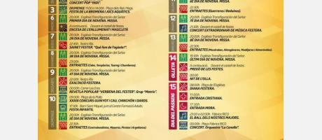 Programa Moros y Cristianos Ibi 2017 (2)