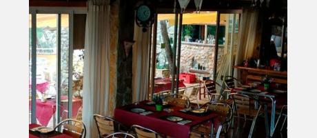 Albergue El Refugio en Montanejos Restaurante