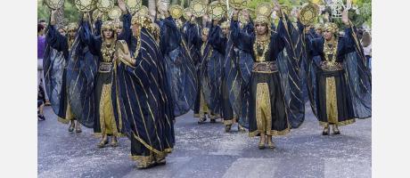 Moros y Cristianos de Crevillent Desfile