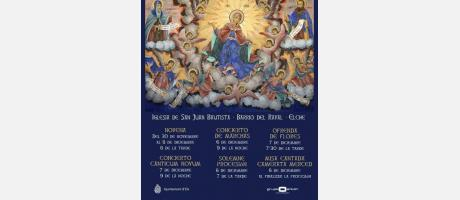 Fiestas de la Inmaculada Concepción.
