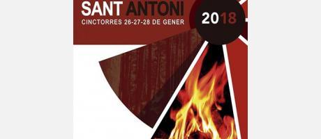 Cartel de San Antonio ababd 2018