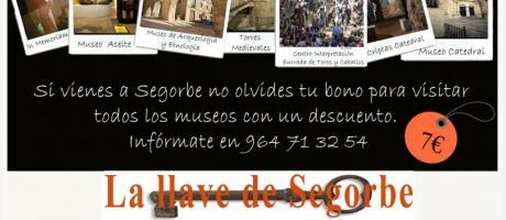 Cartel bono cultural La Llave de Segorbe