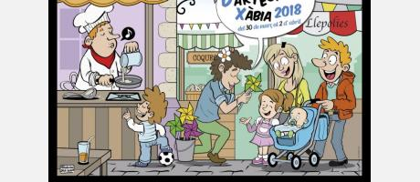 Feria de Artesanía en Xàbia 2018