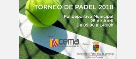 Torneo de Pádel 2018 EPNDB