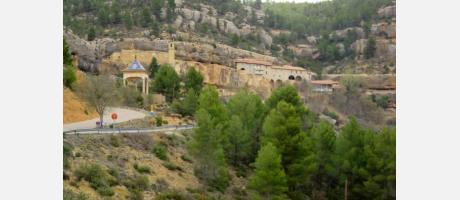 Vistas del santuario de Balma